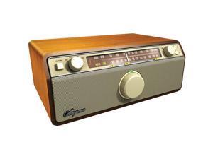 Sangean - WR-12 - Sangean WR-12 AM / FM / AUX-In / Analog Wooden Cabinet Receiver