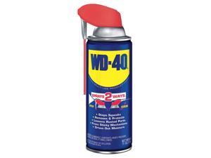 WD-40 - 490040 - Lubricant, 17.6 oz. Container Size, 11 oz. Net Weight