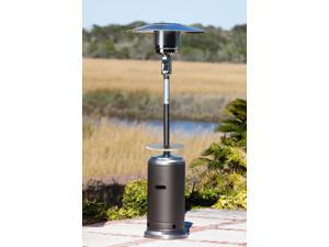 Fire Sense - 61734 - Mocha and Stainless Steel Standard Series Patio Heater with Adjustable Table