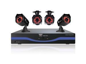 Night Owl Optics - B-L85-4624 - Night Owl B-L85-4624 Video Surveillance System - 4 x Camera, Digital Video Recorder -