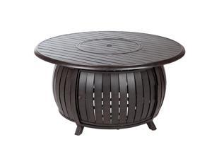 Fire Sense - 61832 - Grand Cooper Extruded Aluminum Round LPG Fire Pit
