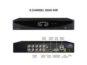 Night Owl Optics - F6-DVR8-1TB - Night Owl 8 Channel Video Security System with a 1TB HDD - Digital Video Recorder - 1