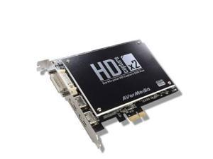 AverMedia - C129 - AVerMedia DarkCrystal HD Capture SDK Duo C129 - Functions: Video Capturing - PCI Express 2.0 x1 - 2048 x 1080 - NTSC - MPEG-2 - PC, Linux - Plug-in Card