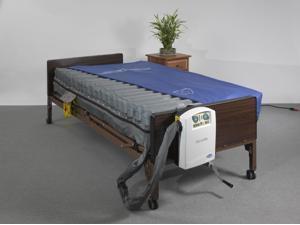 Drive Medical - LS9000B42 - Masonair Low Air Mattress and Alternating Pressure Mattress System, 42 x 10 - (Blue)