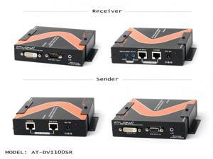 Atlona - DVI100SR - DVI with RS232 and Analog Audio Extender over Cat5/6 up to 330ft