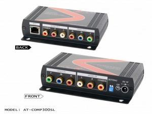 Atlona - COMP300SL - Component video with analog/digital audio cat5/6/7 extender with component loop-out (sender unit)