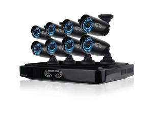 Night Owl Optics - CL-882-720P - Night Owl 8 Channel Smart HD Video Security System with 2 TB HDD and 8 x 720p HD