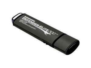 Kanguru - KDFE300-16G - Kanguru Defender Elite300 FIPS 140-2 Certified, USB 3.0 secure flash drive with Physical Write Protect Switch, 16G - FIPS 140-2 Certified, Secure, SuperSpeed USB 3.0, Physical