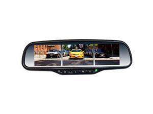 Boyo - VTM35X3 - BOYO VTM35X3 Multiple-Screen 3.5 OE-Style Replacement Rearview Mirror Monitor
