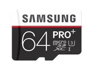 SAMSUNG PRO Plus 64GB microSDHC Memory Card w/ Adapter Model MB-MD64DA/AM