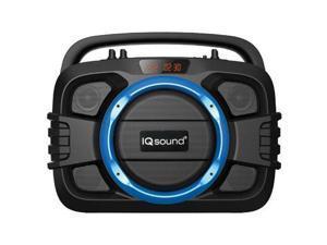 Supersonic - IQ-2400BTBLU - Supersonic SoundBox IQ-2400BT Speaker System - Portable - Battery Rechargeable - Wireless