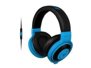 Razer - RZ04-01400600-R3U1 - Razer Kraken Mobile Headset - Stereo - Neon Blue - Mini-phone - Wired - 32 Ohm - 20 Hz - 20