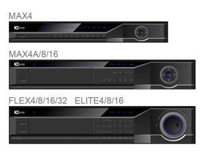 IC Realtime - DVR-FLEX8E/3000 - 8 CH High Peformance 2U DVR with DVD-RW & 3TB HD