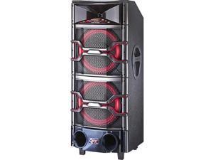 QFX SBX-921200 Dual DJ Mixer Speaker