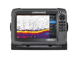 Lowrance - 000-11785-001 - LOWRANCE 000-11785-001 HDS-7 Gen3 Insight(TM) Fishfinder/Chartplotter with 83/200kHz