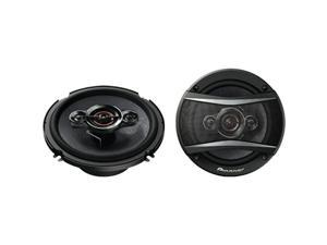 Pioneer - TS-A1686R - Pioneer TS-A1686R Speaker - 60 W RMS - 350 W PMPO - 4-way - 2 Pack - 32 Hz to 38 kHz - 4 Ohm - 91