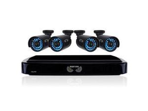 Night Owl Optics - B-A720-41-4 - Night Owl 4 Channel Smart HD Video Security System with 1 TB HDD and 4 x 720p HD