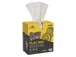 Georgia Pacific - 29608 - White Flax Disposable Wipes, Number of Sheets 72, Package Quantity 10
