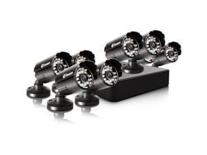 Swann - SWDVK-8ALP18-US - Swann Compact Security System - 8 Channel Digital Video Recorder & 8 Cameras - Digital Video Recorder, Camera - H.264 Formats - 500 GB Hard Drive - 30 Fps - 650 - Composite