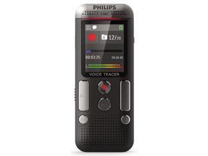 Philips - PSPDVT250000 - Voice Tracer 2500 Digital Recorder, 4 GB, Black