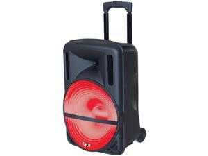 QFX - PBX61126 - Qfx Pbx61126 Battery Powered Portable Pa Party Speaker Btfm