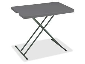 Iceberg - 65491 - Iceberg IndestrucTable TOO Personal Folding Table - Rectangle Top - X-shaped Base - 30 Table Top
