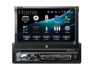 "Dual AV 7.0"" Motorized Touch Screen DVD BT 1A USB remote DV516BT"