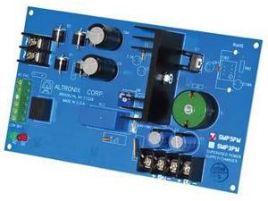 Altronix - SMP5PMP4 - Altronix 4 Fused Outputs Supervised Power Supply/Charger. 12/24VDC @ 4A. Grey Encl. - 110 V AC,