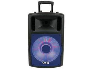 QFX - SBX 721000BTL - QFX SBX-721000BTL Speaker System - Tower - Wireless Speaker(s) - Black - 50 Hz - 20 kHz - SD -
