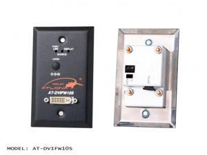 Atlona - DVIFW10S - Wall Plate Style DVI Transmitter over single Multi Mode Fiber with HDCP and EDID Support