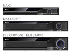 IC Realtime - DVR-FLEX4E/2000 - 4 CH High Performance 2U DVR with DVD-RW & 2TB HD