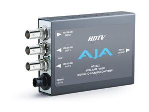 AJA Video Systems - HD10C2 - Dual Rate HD/SD Digital Analog Converter Equalized HD-SDI Loop-Thru