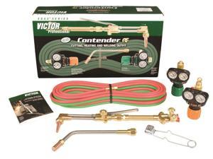 Victor - 0384-2052 - Cutting and Heating Outfit, CA2460, ESS3-125-540, ESS3-40-510LP, Propane/Natural Gas Fuel, 315FC