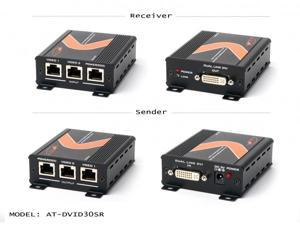 Atlona - DVID30SR - Dual Link Dvi Over 3 Cat5/6/7 Transmitter And Receiver