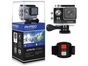 World Tech Toys - EK7000 - AKASO EK7000 4K WIFI Sports Action Camera Ultra HD Waterproof DV Camcorder 12MP - 170 Degree