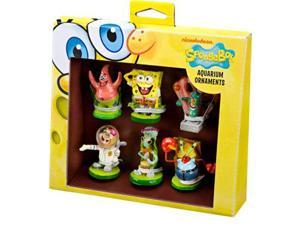 Spongebob Mini 6pc Ornaments