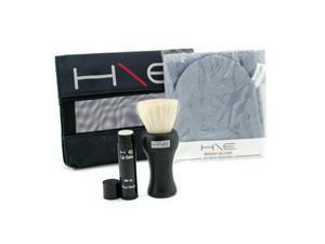 H\E Minerals Kit: Lip Balm SPF 15 + Facial Brush + Wash Glove + Bag - 3pcs+1bag