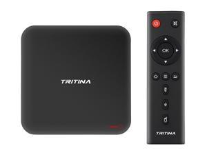 Internet TV Box Tritina Redot 2GB/16GB 64bits Dual-Band 2.4Ghz/5Ghz Wifi Hotspot 4K HD Android 6.0 Kodi