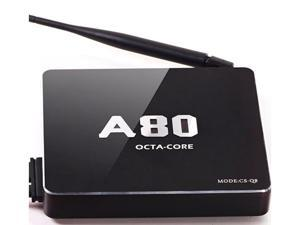 CS-Q8 A80 Android TV Box  2.4G/5GHz WiFi 4K*2K H.265 Smart TV box cs-q8 a80 octa core