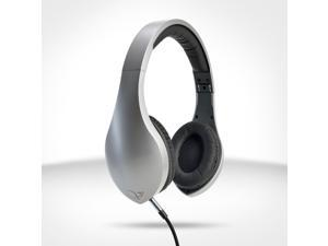 Velodyne vLeve On-Ear Headphones with Inline Mic & 3-Button Remote - Satin Silver 80-VLEVE SL
