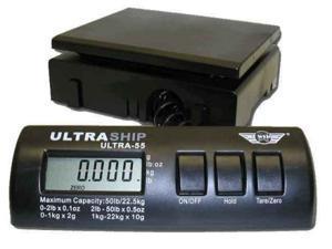 My Weigh UltraShip 55 lb. Digital Postal Shipping & Kitchen Scale