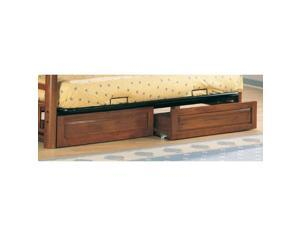 Coaster 4076 - Weathered Wood Futon Storage Drawer Set