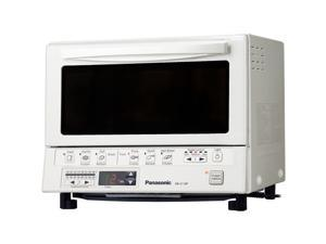 Panasonic NB-G110PW FlashXpress Toaster Oven with Double Infrared Heating, White