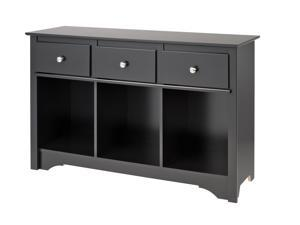 Prepac BLC-4830-K Living Room Console - Black