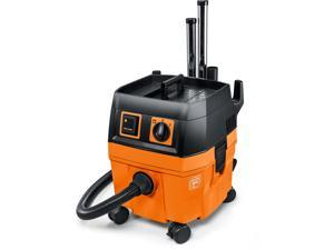 FEIN 9-20-27 Turbo I 5.8 Gallon Wet/Dry Vacuum with Auto Start, Orange/Grey