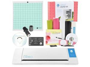 Silhouette America CAMEO2-KIT Cameo Digital Craft Cutter with Vinyl Starter Kit