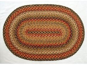 """Model # 502094 * Red and beige set the background for black accents in Kingston. * Size: 2'3"""" x 3'9"""" * Product UPC: 801063502094"""