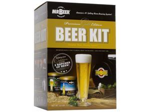 Mr. Beer Premium Gold Edition Home Brewing Craft Beer Kit 20635
