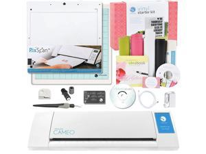 Silhouette CAMEO Vinyl Starter Kit with PixScan Cutting Mat