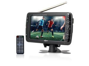 Axess 7-Inch, LCD TV w/ATSC Tuner, Rechargeable Battery and USB/SD Inputs - TV1703-7